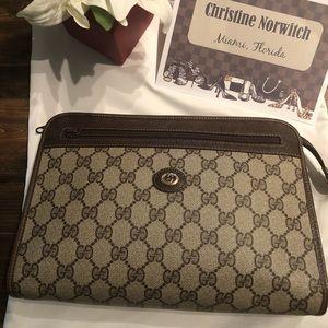 Gucci vintage clutch.